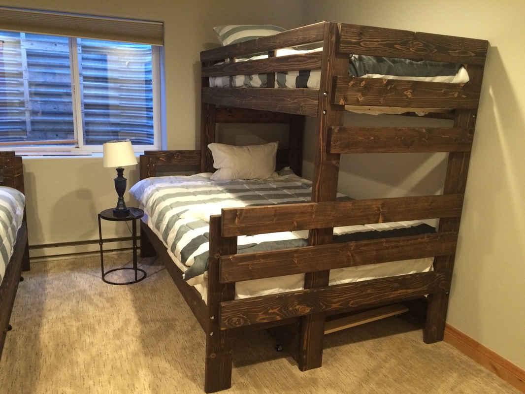 Bunkbeds mr bunk bed 2 twin beds make a queen